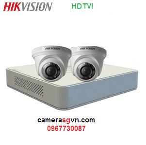 Lắp đặt bộ 2 camera giá rẻ